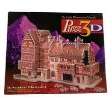 Milton Bradley Bavarian Mansion Puzz 3D Jigsaw Puzzle 418 Pieces Complete - $24.75
