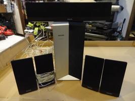 Philips Speaker Surround Sound System W/ Subwoofer & Bar 5 Total SW3544 - $99.99