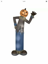 NEW Halloween 12 FOOT Lighted Pumpkin ScareCrow Inflatable Airblown Yard... - $98.99