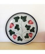 DANSK Dinner Plate Berries Strawberry Excellent - $17.82