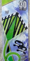 "X-Kites StuntDiamond 30"" Green Dual Control Kite - New! - $11.79"