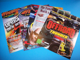 Lot Of (5) ORIGINAL NOS VIDEO ARCADE FLYERS DAYTONA USA ADDAMS FAMILY VA... - $8.86