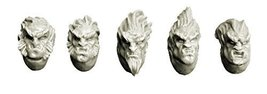 Spellcrow Feral Wolves Space Knights Heads