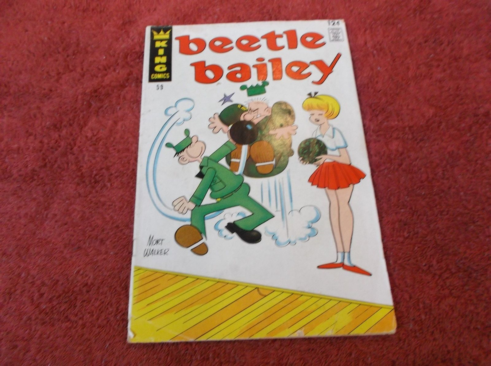 BEETLE BAILEY # 59 * July 1967 * GD * Mort Walker Story & Artwork!