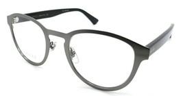 Gucci Eyeglasses Frames GG0161O 004 53-23-150 Ruthenium Black Made in Italy - $245.00