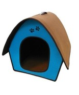 Penn-Plax ZH3 Dog Zipper House with Curved Roof, Blue - £18.05 GBP