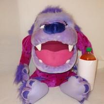 "Purple Monster Tasmanian Devil Huge Plush Doll Stuffed Animal 28"" ACE Tazmanian - $43.89"