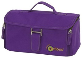 Creative Options Craft Locker with 3 Organizers, Royal Purple - $55.47