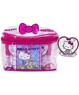 Hello Kitty Upper Deck 40th Anniversary Carry All Case w/Mini Figures, T... - $27.72
