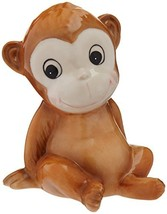 "Cosmos Gifts 20913 Monkey Piggy Bank, 5"" High, Brown - $22.78"