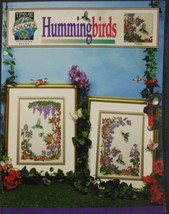 Hummingbirds Counted Cross Stitch Pattern Leaflet True Colors Flowers Na... - $5.95
