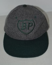 cbaa6d7c8b1 Vintage YUPOONG Mens BP Oil Gas Hat Cap Wool Blend Gray Green One Size F.