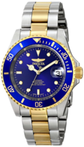 Invicta Men's Pro Diver 23k Gold-Plated Stainless Steel Two-Tone Automat... - $119.99