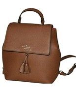 New Kate Spade New York Hayes Leather Backpack Brown - $139.00