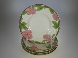 Franciscan Desert Rose Bread & Butter Plates Set of 4 BRAND NEW PRODUCTION - $10.35