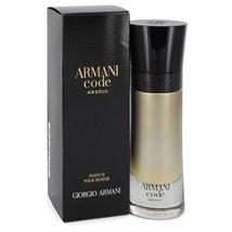 Giorgio Armani Code Absolu 2.0 Oz Eau De Parfum Spray image 3