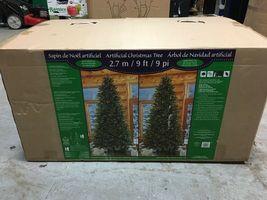 9′ft Pre-Lit LED Artificial Christmas Tree Surebright Dual Color EZ Connect NIOB image 6
