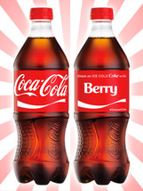 Coca-Cola Share a Coke with Berry Collectible Rare Unopened Red Bottle 2... - $14.69