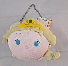"Disney Pixar Tsum Tsum Girl Purse Plush  5"" Tall Stuffed Animal toy - $4.46"