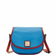 Dooney & Bourke Pebble Grain Hallie Azure Blue
