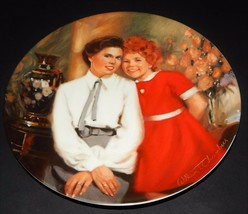 Annie & Grace Musical William Chamber Bradford Exchange Knowles Plate 1983  - $24.74