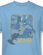 DC Comics Batman Icon Retro Superhero Graphic T-shirt Bruce Wayne BM1322 image 3
