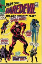 Daredevil Comic Book #27 Marvel Comics 1967 VERY FINE - $51.20
