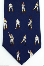 Old Fashioned Baseball Players Mens Necktie Coach Team Fan Gift Silk Nec... - $15.79