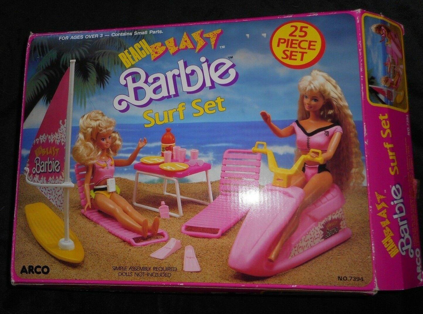 Vintage Arco Beach Blast Barbie Surf Set and 40 similar items