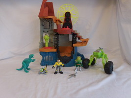 Fisher-Price Imaginext Castle Wizard Tower Playset Lights + Sounds + Fig... - $22.02