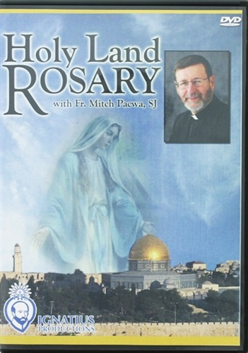 Holy land rosary  dvd by fr mitch pacwa s.j.
