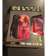 Summit GoPak Lightweight Foldable Backpack - Palms - $19.59