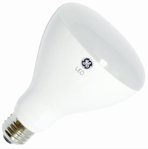 GE 65 Watt LED Soft White Equivalent Dimmable Indoor BR30 Floodlight (4 Bulbs) - $35.56