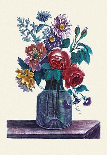 Vase of Flowers - Art Print - $19.99 - $179.99