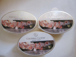 3 Colonial Candle ~~POPCORN GARLAND~~ Simmer Snaps/ Tarts 2.4oz Oval - $16.00