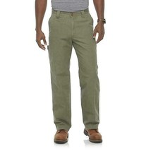 Outdoor Life Men's Canvas Cliff Twill OLIVE GREEN Pants, SZ 30W X 30L - $23.74