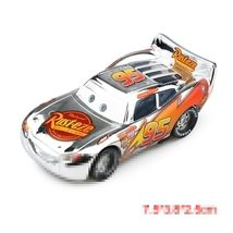 "Disney Pixar Cars 2 ""Mc Queen Silver"" Diecast Vehicle Kids Toys  - $8.69"