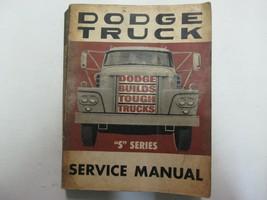 """1960s Dodge Truck """"S"""" Series Service Repair Shop Manual FACTORY OEM  - $34.60"""