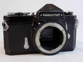 NIKON NIKKORMAT FT Vintage 35MM Film Camera Body Works Needs Cleaning - $24.74