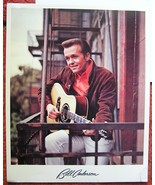 BILL ANDERSON Photo VINTAGE COLLECTION Plus His Favourite Restaurant po ... - $14.95