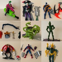 Superhero Figures Choice Batman Joker Fantastic 4 Godzilla Sonic Spiderm... - $9.99+