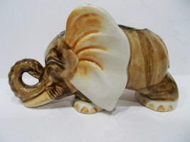 antique occupied Japan porcelain elephant planter - $35.00