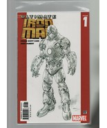 Ultimate Iron Man #1REP.2ND - Marvel Comics - 2005 Orson Scott Card, And... - $1.95