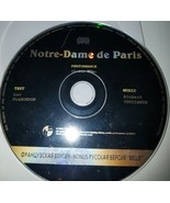 Luc Plamondon,Richard Cocciante : Notre Dame De Paris *CD Only* - $6.85