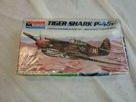 Revell 85-5209 P-40B Tiger Shark Model LIT-NIB-1:48 Scale - $15.10