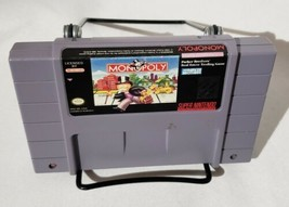 Monopoly Super Nintendo SNES  - $9.74