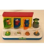 Sesame Street Workshop Talking Pop Up Pals Toy Elmo Oscar 2004 Mattel wi... - $29.99