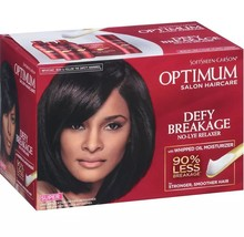 Softsheen Carson Optimum Salon Haircare Defy Breakage No-Lye Relaxer Kit Super - $16.78