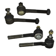 4 Pc Kit Inner & Outer Front Tie Rod Ends For Nissan D21 Pathfinder Pickup 4WD - $36.60