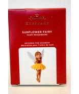 Hallmark  Snowflower Fairy - Fariy Messengers Series 16th Keepsake Ornam... - $21.77